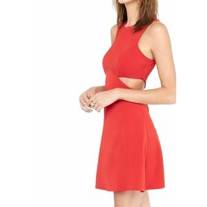 Fit & Flare Red Dress